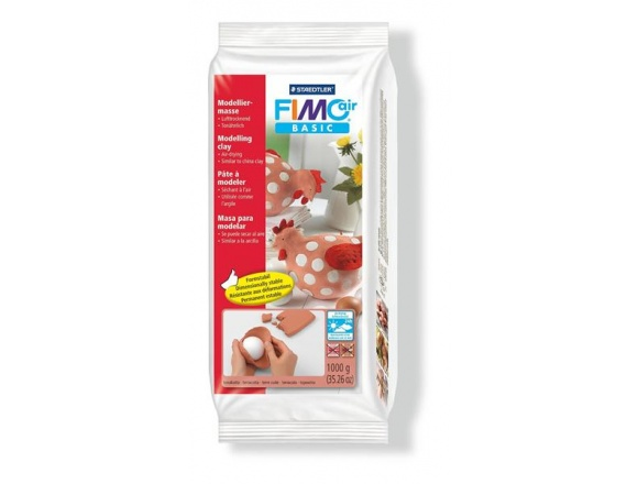 FIMO Air Basic 1 kg. - Teracotta