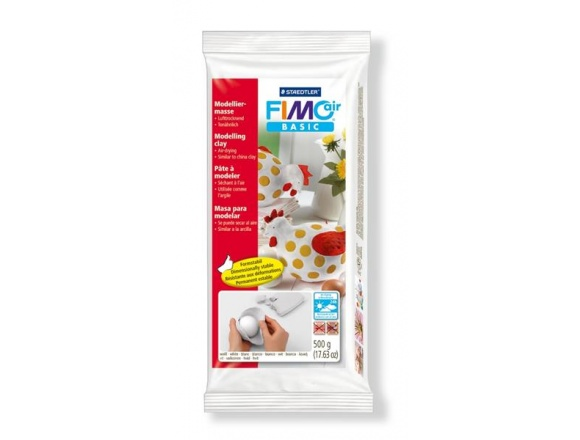 FIMO Air Basic 500g. - White