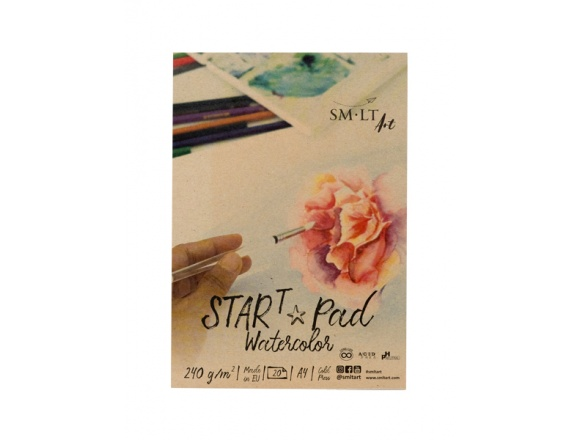 SMLT Blok Start Pad Watercolor A4 240Gg 20 Arkuszy AS-20(240)