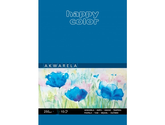 Blok Akwarelowy Happy Color A5 250 g