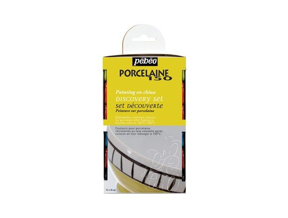 Komplet farb do porcelany Pebeo 12x20 ml