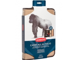 CARRY-ALL A4 FOLIO CANVAS COLOUR